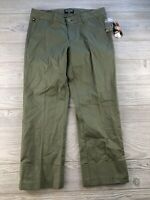 *Polo Jeans Co Ralph Lauren  Capri Stretch Cuffed Crop Pants  Size 6 Green