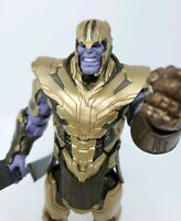 "Complete Marvel Legends Avengers End Game Armored Thanos BAF 6"" Figure Complete"