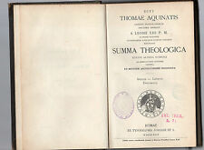divi.thomae aquinatis summa theologica - indices lexicon,documenta