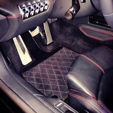 Lamborghini Aventador LP720-4 50th Anniversary Q-Citura Alcantara Floor Mats