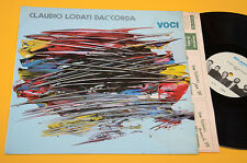CLAUDIO LODATI DAC'CORDA QUINTET LP VOCI ORIG ITALY JAZZ EX++ ! AUDIOFILI !