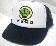 NEW NERD NEPTUNES TRUCKER HAT CAP Black
