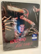 The Evil Dead 1 & 2 Best Buy Steelbook - 4K/Blu-ray/Digital - New