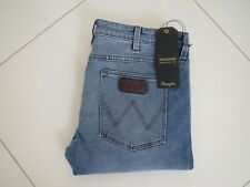 Men's Wrangler Strangler Super Slim Fit Dirty Blvd Blue Stretch Jeans  Size : 36