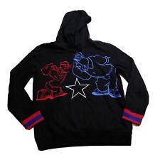 FTW 100%authenitc Mens Size Large LS hoodies black popeye match