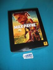 Max Payne 3 Special Edition PAL Xbox 360 X360 Collectors Limited Edition