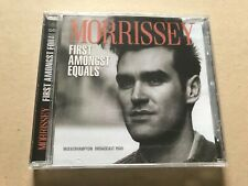 FIRST AMONGST EQUALS  by MORRISSEY  Compact Disc  SON0368 rare U.K. live show