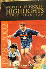WORLD CUP HIGHLIGHTS FOOTBALL RARE DVD COLLECTION 1978-2002 SOCCER DOCUMENTARY