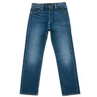 Levi's Skateboarding 501 Blue Straight Regular Fit Sits At Waist Jeans W31 L30