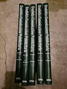 Enciclopedia Creatività e Comunicazione Pubblicitaria - 5 Volumi - Rilegati
