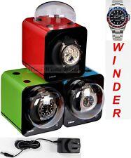 Fancy Brick Triple Automatic Watch Winder system-model: 3FB-F-CLRS -BRILLIANT!