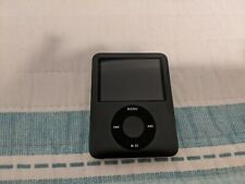 Apple iPod Nano 3rd Generation 8GB Dark Gray MP3 Player Bad Battery