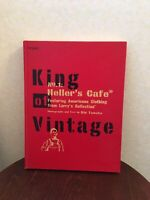 KING OF VINTAGE Vol.1 Book Heller's Cafe Rin Tanaka My Freedamn Japan Used