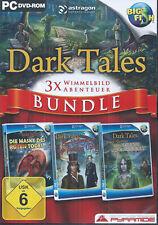 PC - DARK TALES BUNDLE - 3 PC SPIELE - NEUWERTIG!!!