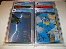 Batman The Dark Knight Returns 1 2 3 4 CGC set 9.4 9.2 9.6 9.6 White pages 1st