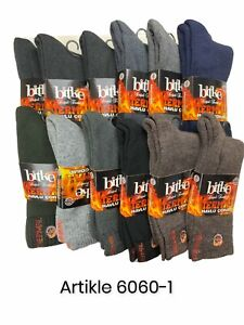 Mens Socks Thermal Socks 3 Pairs Ultimate Thick Winter Warm Socks Size 40-44