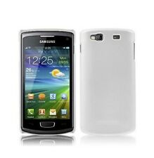 Housse Etui Coque Protection ★★ SAMSUNG WAVE 3 S8600 ★★ Blanc White Case