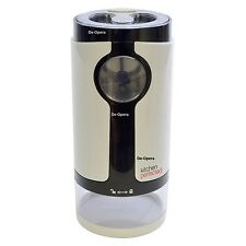 Electric Coffee Grinder 180W Spice Ivory 60g White - New