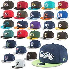 New Era Cap 9fifty Snapback Cap NFL Sideline 18/19 Seahawks Patriots Raiders Etc