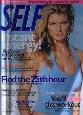 MARISA MILLER July 2002 SELF Magazine