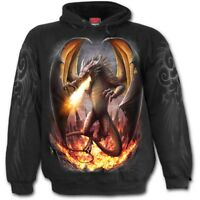 SPIRAL DIRECT DRACO UNLEASHED Hoodie Dragon/Flames/Wings/Hoody/Fire/Drogon
