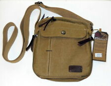 Kauffo  canvas men or womens shoulder crossbody  bag/ purse new with tags