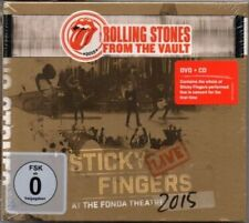 Rolling Stones - From The Vault - Sticky Fingers - Live 2015 - CD + DVD - Neu /