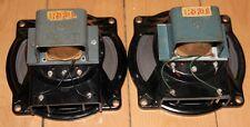 "rare matched pair VEB 7"" tweeter midrange Field Coil speaker, Klangfilm project"