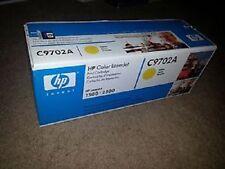 OEM Genuine HP C9702A HP 2500 Toner Cartridge Yellow Color LaserJet 1500 2500