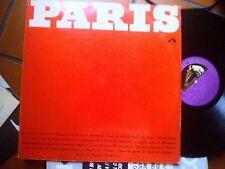 LP PARIS GATEFOLD +BOOKLET PIAF MONTAND TRENET BAKER MISTINGUETTE HORNER EX