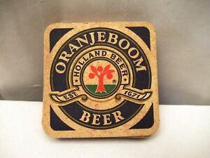"Vintage Orangeboom Holland Beer Advertising Glass Coaster Barware 9 Pc Collecti"""