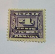 1933 Canada SC #J13  Postage Due  MH F-VF  4 cent stamp