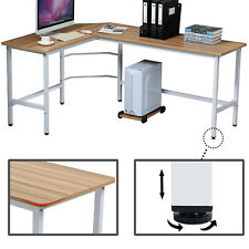 Eckschreibtisch Computertisch L-förmig Schreibtisch Gaming PC Tisch Bürotisch