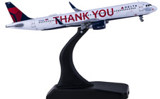 """Gemini Jets 400 Scale DiecastModel Delta Airbus A321-211neo """"thank You"""" N391dn"""