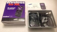 Samsung MetroPCS Freeform 2 Black NEW STEEL IN THE BOX