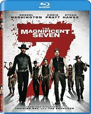 THE MAGNIFICENT SEVEN (Blu-Ray, 2016) FREE FIRST CLASS SHIPPING