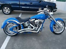 VANCE AND HINES BIG RADIUS EXHAUST THUNDER MOUNTAIN CUSTOMS FRONTIER - FIRESTONE