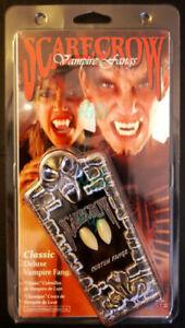 Halloween/Theater/Special FX Classic Deluxe Vampire Fangs/Teeth Scarecrow