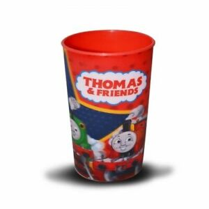 2x Thomas & Friends Lenticular Tumbler Gift For Kid's Character Glasses Red New