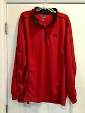 Hyster lift truck / forklift 3/4 performance material pullover jacket - Red 2XL