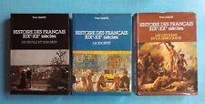 Histoire des Français XIXe-XXe siécles 1 2 3 - Yves Lequin - Armand Colin