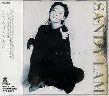 SANDY LAM / SIMPLE JAPAN CD OOP W/OBI
