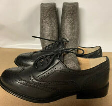 Dolcis Brogue Shoes Black Brand New Without Box Size 3 UK
