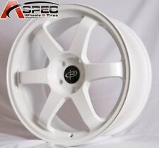 1 ROTA GRID 17X9 5x100 +30 73.1 WHITE RIM WHEEL ( 1 WHEEL)