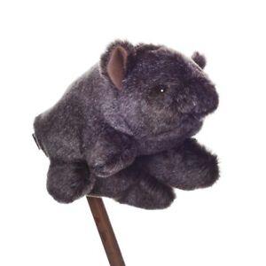 Bruce Hairy Nose Wombat Australian Native Animal Puppet