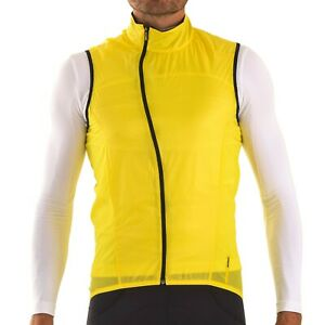 Mavic Cosmic Pro Wind Vest Gilet Assos Yellow Rapha Medium Castelli