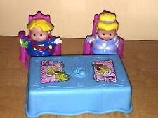 Prince & Princess Little People ()/Silla De Mesa Set con Dragon, Pirate y Knight