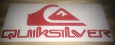 Quicksilver surfing skateboard snowboard car campervan sticker decal 150mm ,