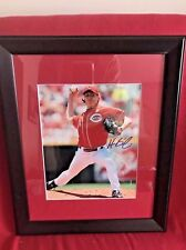 Homer Bailey 8x10 Photo Framed Auto Hand Signed MLB Cincinnati Reds