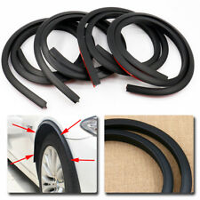 4x Black 1.5m Car Wheel Fender Extension Moulding Flares Trim Strip Edge SUV